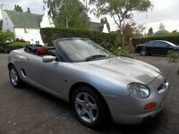 MG MGF 1.8 VVC - Great Condition - Ready to Drive - Very Clean Car - Classic Car Insurance