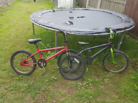 2 bmx boys bikes for sale
