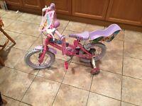 "Princess bike 14"" wheel"