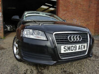 09 AUDI A3 TECHNIK 1.6,MOT FEB 018,5 DOOR,1 OWNER FROM NEW,PART HISTORY,2 KEYS,STUNNING FAMILY CAR