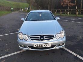 Mercedes clk 220 cdi Avantgarde Automatic Turbo Diesel 2.1cc 150bhp 2 door coupe 56/2006 2 former ke