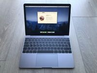 12-inch MacBook 512GB in Space Grey (2016) - Mint condition & barely used.