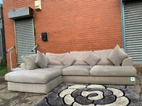Beautiful Grey NEXT corner sofa delivery 🚚 sofa suite couch furniture