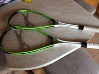 2 Slazenger Squash rackets