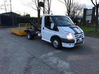 Transit sport skip lorry. Hookloader. Roll on off