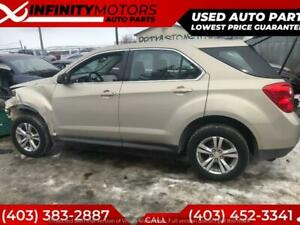 2011 CHEVROLET EQUINOX FOR PARTS PARTING OUT CARS CAR PARTS