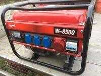 Petrol Generator 240volt - 415volt 50H 2.4 KW