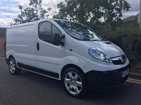 Vauxhall Vivaro 2.0 2700 CDTI PANEL VAN - 12 MONTHS MOT - NEW CLUTCH and FLYWHEEL/TYRES