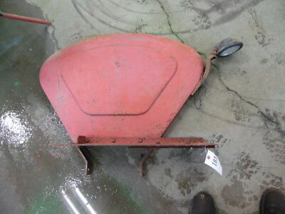 Massey-harris 3344 Tractor Right Left Fender Floor Plates Tag 183 153
