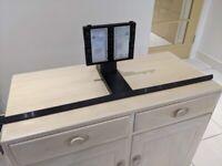 "SAMSUNG TV STAND MOUNT BASE FOR MODEL 75"" QE75Q70TATXXU SCREWS INSTRUCTIONS NEW"