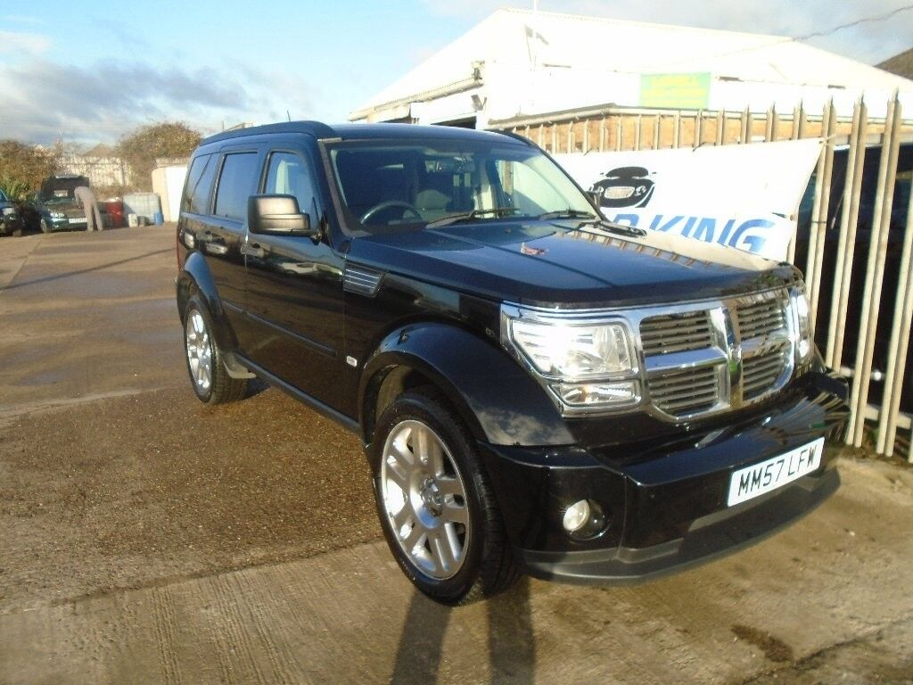 dodge nitro 2 8 crd sxt 5dr auto black 2008 in saxilby lincolnshire gumtree. Black Bedroom Furniture Sets. Home Design Ideas