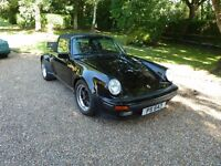 Porsche 911 Turbo body convertible outstanding original condition