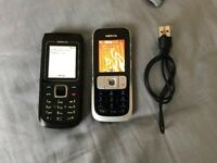 X2 Nokia phones on o2.WITH CHARGER good condition. £20 FOR BOTH. NO OFFERS.CAN DELIVER