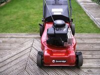 SOVEREIGN PETROL LAWNMOWER SELF PROPELLED