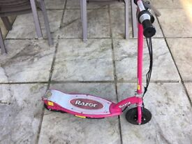 Razor electric powered scooter