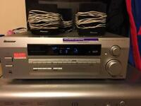 Pioneer 5.1 Chanel AV Receiver with speakers