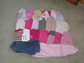 Bundle 2 - 0-3 Months Baby Girls Clothes