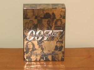 Coffret DVD de films de James Bond 007 Ultimate Edition Volume 1