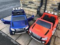 Ford Ranger In Met Blue & Orange, Parental Remote & Self Drive Limited Stock