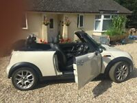 MINI CONVERTIBLE CHILLI PACK VERY HIGH SPEC. GREAT RUNNER.