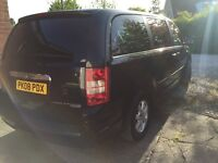 Chrysler Grand Voyager 2.8CRD AUTO 2008 Stow n'Go New Shape Full Service History 2 Keys!! One Owner!