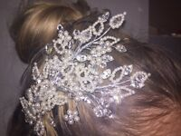 Swarovski side crystal tiara