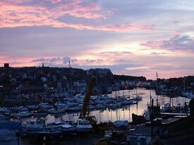 Whitby holiday cottage. Overlooking Harbour. Short walk along Harbour to town.