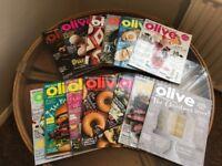 13 Olive cookery magazines