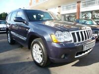 JEEP GRAND CHEROKEE 3.0 OVERLAND CRD V6 5d AUTO 215 BHP (blue) 2009