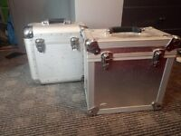 """161 x 12"""" dance/hard Trance/house record collection & two flight cases (BULK LOT)"""