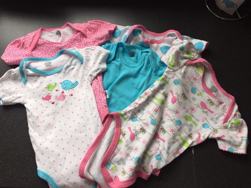 Set of Baby Jockey bodysuits