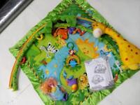 Fisher Price rainforest playmat baby
