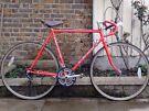 Vintage Harry Quinn Reynolds 531 Handbuilt Racer Bike