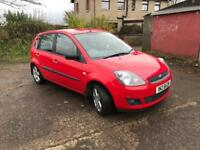 Ford Fiesta zetec 1.25 2006 5door