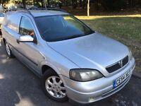 2004 DIESEL Vauxhall ASTRAVAN. BRILLIANT CONDITION. RECENTLY SERVICED.E/W. C/L.NEW MOT.FULL HISTORY