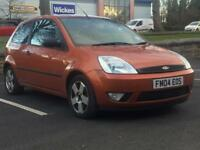 FORD FIESTA ZETEC 2004 (04 REG)*£899*12 MONTHS MOT*3 DOOR*CHEAP TO RUN*PX WELCOME*DELIVERY