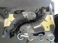 Bauer X30 inline skates, good condition, size 10.