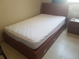 One single bed