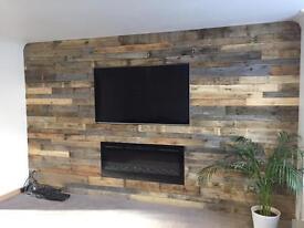 Wooden Pallet Walls