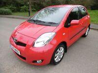Toyota Yaris T SPIRIT MM VVT-I LOOK @ THE MILEAGE (bright red) 2011