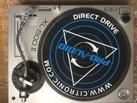 Pair Gemini XL-500 ii Turntables DJ Decks Hardly Used