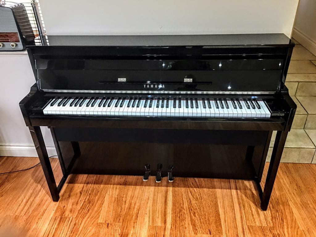 yamaha nu1 avant grand digital piano in deeping st james