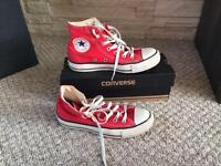 Converse All Star size 5 RED