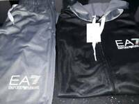 Armani shorts and sleevless hoodie last one size large