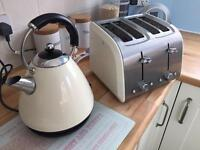 Kettle + 4 Slice Toaster