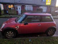 Mini One Seven 1.6 air con, panoramic sunroof, electric everything, well looked after 45mpg