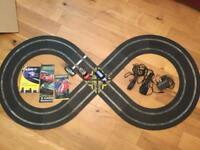 Scalextric Lot - Complete Track - includes cars, controllers