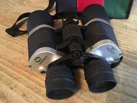 LEIDORY 7x50 army surplus binoculars in carrycase