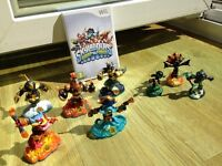 Wii Skylanders Swapforce game, portal and characters bundle