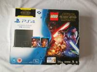 PlayStation 4 1TB Slim with LEGO Star Wars and More (PS4)